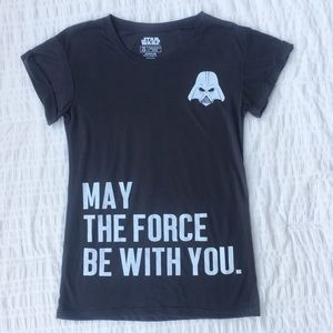 Star Wars May The Force Be With You Graphic Tee XS